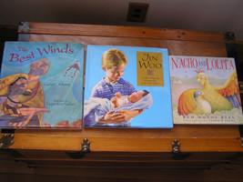 Lot of 3 Hardcover Virtue Books JIN WOO Best Winds NACHO AND LOLITA - Pa... - $11.29