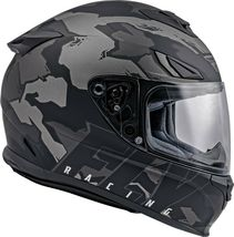 2XL Fly Racing Sentinel Ambush Motorcycle Helmet Camo/Grey/Black DOT & ECE  image 5