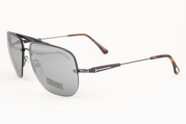 Tom Ford Nils Gunmetal Brown / Gray Mirrored Sunglasses TF380 09Q - $155.82