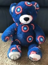 "Build A Bear 16"" Plush Marvel Avengers Captain America Bear EUC - $20.00"