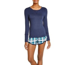 Splendid Intimates Long Sleeve Top in Blue, Large - $18.69