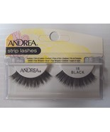 Andrea's Strip Lashes Fashion Eye Lash Style 18 Black - (Pack of 4) - $13.97