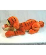 The Walt Disney Company Tigger Stuffed Animal Plush Laying Lounging 24 Inch - $29.65