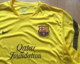 Nike F.C. Barcelona XL Extra Large Dri Fit Qatar Foundation L/S Soccer J... - €25,98 EUR