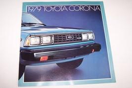 1979 toyota corona owners sales brochure used original  very clean condi... - $10.95