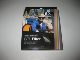 Vivitar 62mm C-PL Circular Polarizer Glass Filter 62 BRAND NEW - $10.29