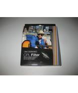 Vivitar 62mm C-PL Circular Polarizer Glass Filter 62 BRAND NEW - $10.29