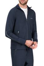 Hugo Boss Men's Slim Fit Zip Up Sweatshirt Track Jacket Sicon 50392858 Navy image 1