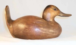 Decorative 1982 Dux' Dekes Carved Wood Ruddy Duck Decoy Signed by Jeff W... - $57.00
