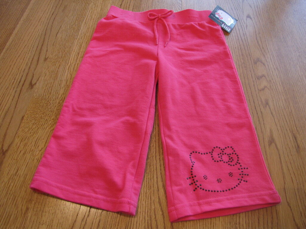 Primary image for Girls Hello Kitty pink pants Capri 2T HK55301 NWT^^