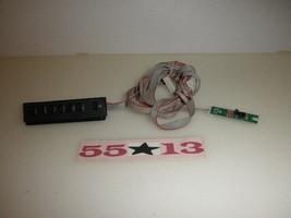 Rca LED46C45RQ Tv Keyboard Controller: RE0342KR010 Ir Sensor: RE323242R010 - $18.81