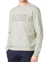 Hugo Boss Boss Green Men's Salbo Slim Fit Crew Neck Sweater Sweatshirt 50403980