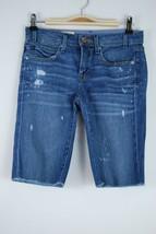 GAP 1969 Destroyed Bermuda Jean Shorts - Size 25/0 - $11.63