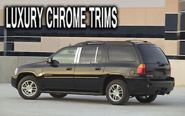 GMC Envoy XL Denali Stainless Chrome Pillar Posts by Luxury Trims 2002-2... - $76.38