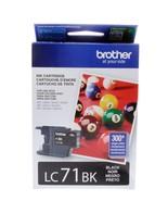 Brother LC 71 Black Ink Cartridge, Standard (LC71BKS) - $12.95