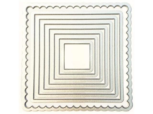 Stampin' Up! Squares Collection Framelits Dies, Set of 8 #130921