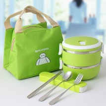 Stainless Steel Thermal Box For Children Adult Style Food Storage Container - $32.66+