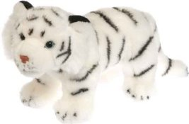 Wild Republic 23cm Naturalposetiger Plush (white) - $13.29