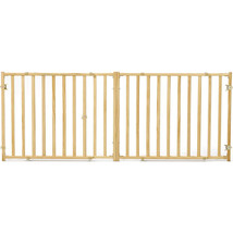 Midwest Homes For Pets Natural Extra-wide Wood Pet Gate 24 027773022824 - $62.28