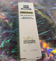 NEW IN BOX trial size Biologique Recherche Creme Grand Millesime 4mL Brightening