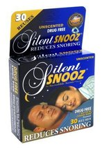 Silent Snooz Snore Relief - Unscented- 1 size Fits All (30 Reuses) (Pack... - $15.00