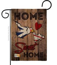 Canada Provinces Newfoundland and Labrador Home Sweet Burlap - Impressions Decor - $22.97