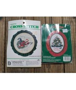 Counted Cross Stitch Merry Country Christmas #3126 Goose w/ Garland Kit ... - $9.75