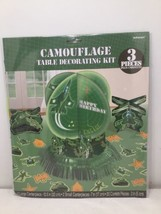 NWT Military Camouflage Table Decorating Kit (23pc) - $3.00