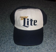 Brand New Miller Lite Baseball Hat Cap For Cocker Spaniel Rescue Charity - $10.24