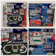 Plug It In And Play Tv Games World Poker Tour Game Texas Holdem New In Box - $18.33