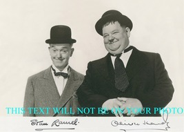 Stan Laurel And Oliver Hardy Signed Autograph 8x10 Rp Photo Classic Comedy - $16.99