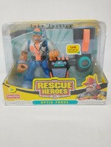 Fisher Price Rescue Heroes Optic Force Jake Justice Police Officer Teles... - $28.04