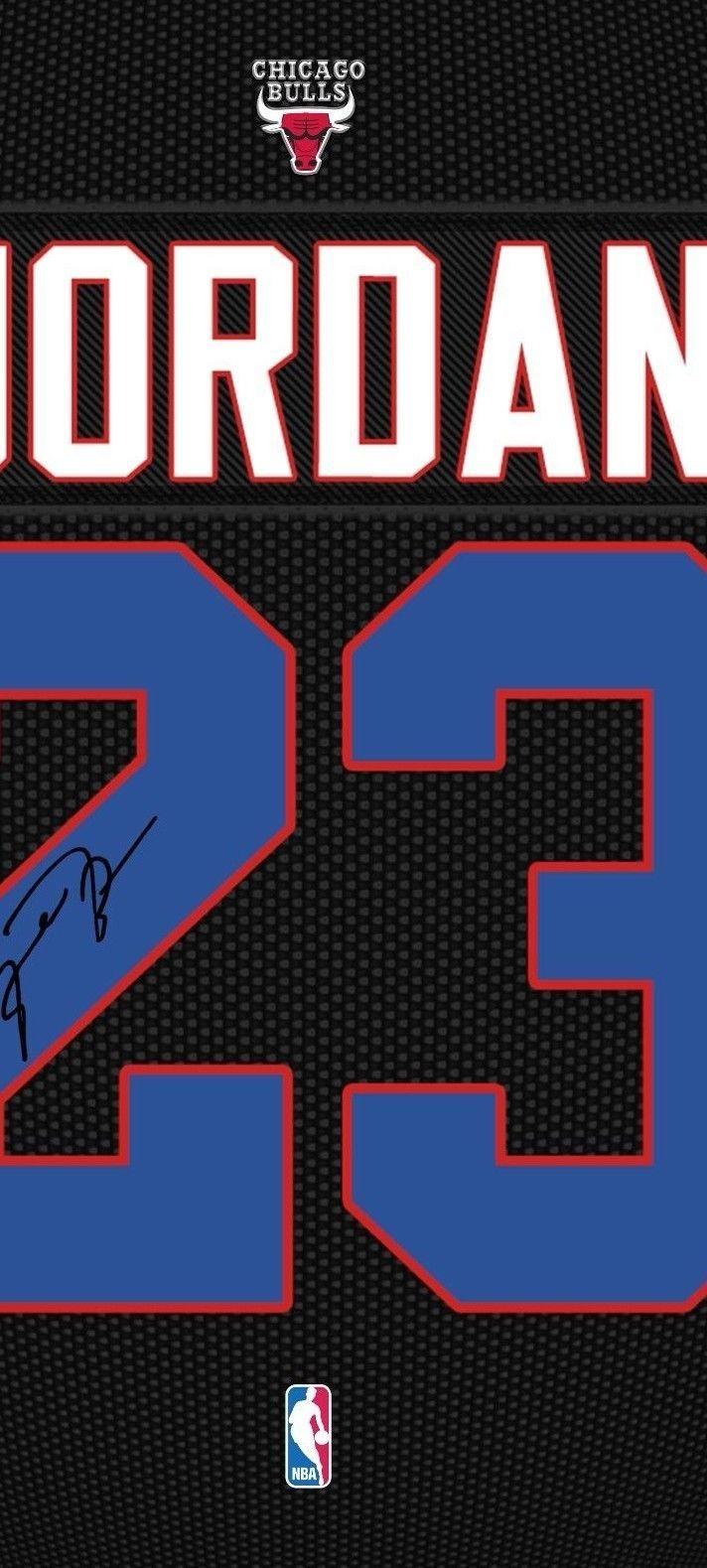 Michael Jordan Chicago Bulls signed autograph Framed printed 100% COTTON Canvas