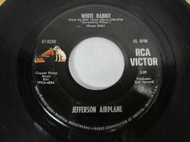 Jefferson Airplane White Rabbit / Plastic Fantastic Lover 45 1967 Vinyl ... - $7.91