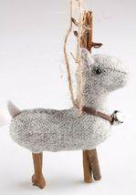 Wondershop 4 count Birchwood Bay Fabric Reindeer Ornament Set NEW w Tags image 8