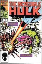 The Incredible Hulk Comic Book #318 Marvel 1986 Very FINE- New Unread - $2.50