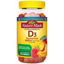 Nature Made Extra-Strength Vitamin D3 5000 IU (125 mcg) Gummies (200 ct.) - $26.33
