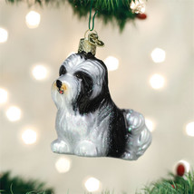 Havanese Glass Ornament - $18.95
