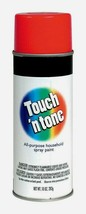 Rust-Oleum TOUCH N TONE Gloss CHERRY RED Spray Paint 10 oz. All-Purpose ... - $12.99
