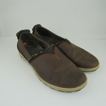 Merrell Select Grip Brown Sugar Loafer Leather Casual Slip On Womens Size 10 - $28.04