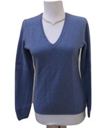 VGUC CHARTER CLUB Heather Purple 100% Cashmere V-Neck Sweater Size S - $29.69