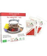 Cutting Edge Cultures Easy Kefir Starter Culture, 4 Pack, 20g - $19.79