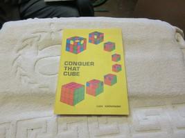 Conquer That Cube , Czes Kosniowsk ,  Antique , Collectible - $20.00