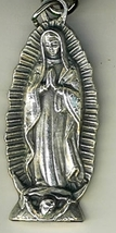 Key Ring - Our Lady of Guadalupe - 2 inches - L105.0180 image 2