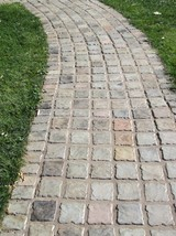 Garden Cobblestone Molds (12) Make Pavers Patios Walls Walks For Pennies 6x6x1.5 image 6