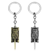 dongsheng World of Tanks WOT Hot Game 3Colors Metal Tank Key Ring Keycha... - $12.00