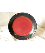 """Noble Excellence Red Sky Round Platter/Chop Plate12 1/2"""" - $25.19"""
