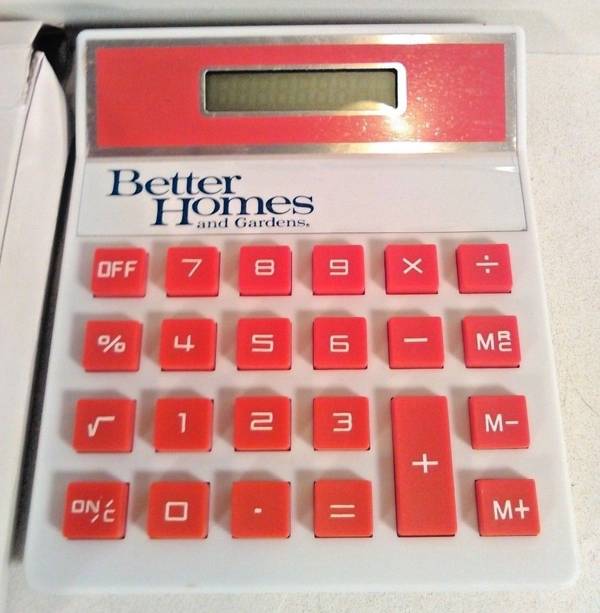 VINTAGE BETTER HOMES AND GARDENS CALCULATOR NEW OLD STOCK