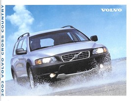 2002 Volvo V70 XC CROSS COUNTRY sales brochure catalog US Canada 02 AWD - $9.00