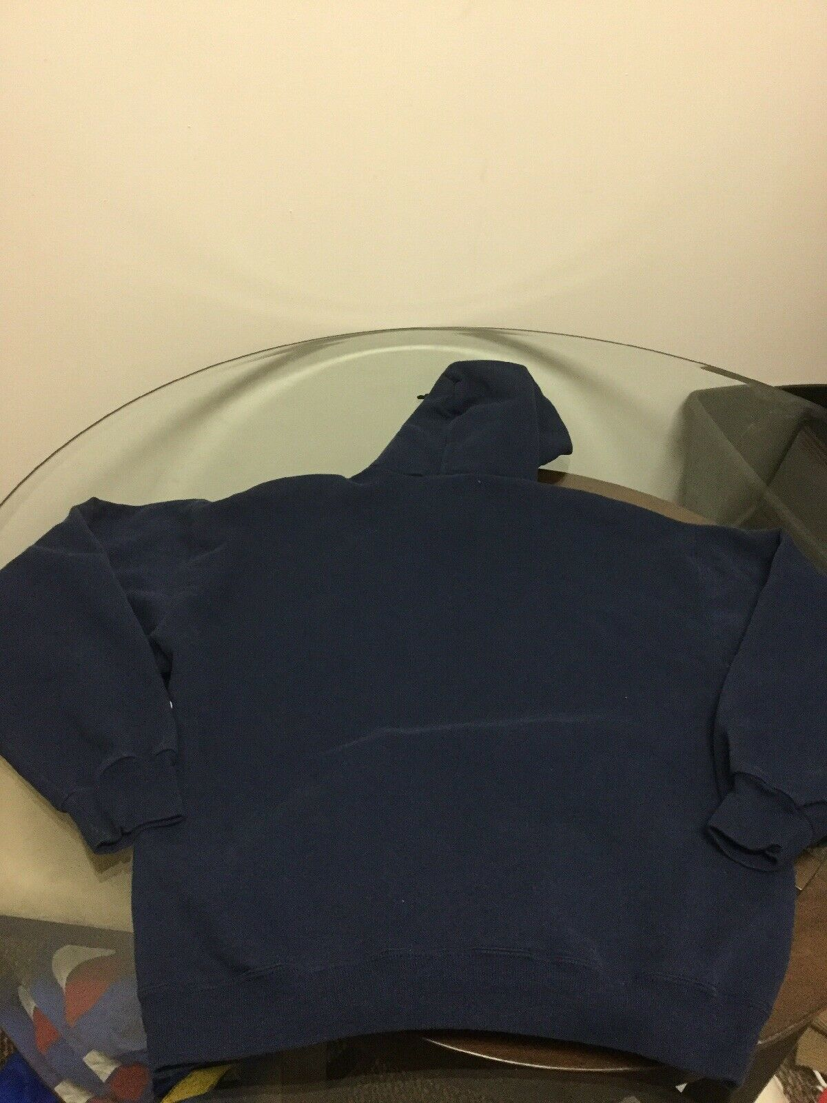 Pennsylvania Penn Quakers Blue Champion Hoodie Sweatshirt Large Good Condition image 6